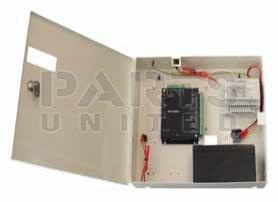 Extension for MT50000/2 access control unit, 4 additional inputs, metal box, battery backup 3A